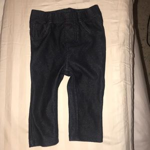 Adorable baby jeggings 3-6m